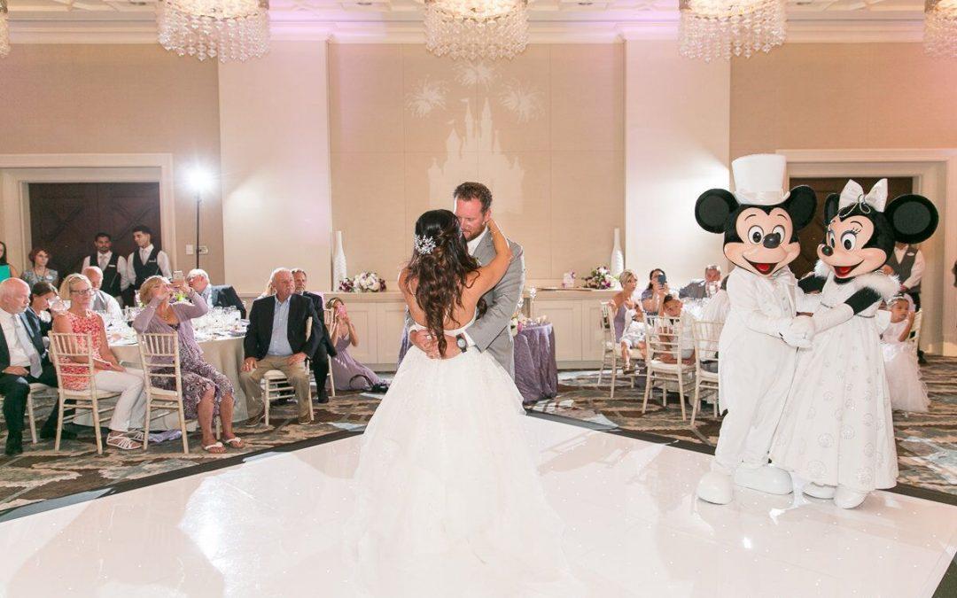 Disney Wedding - Mickey and Minnie at Four Seasons Resort