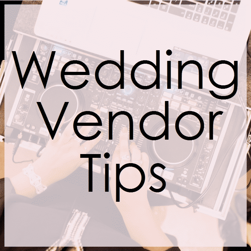 Top Secret Orlando Wedding Vendor Tips And Tricks