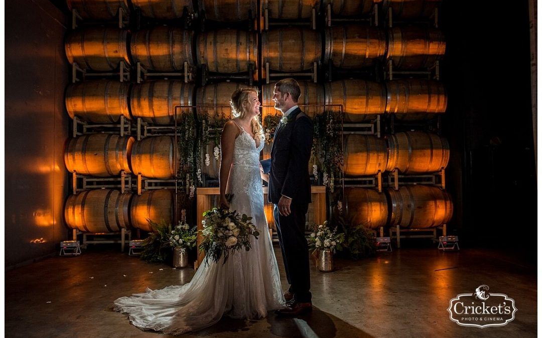Orlando Wedding at Quantum Leap Winery – Justin + Katie