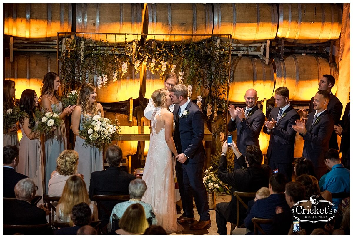 Justin + Katie\'s Orlando Wedding at Quantum Leap Winery | Our DJ Rocks