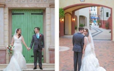 Orlando Wedding at Loews Portofino Hotel – Alexandra + Sean