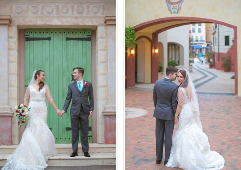 Orlando Wedding at Loews Portofino Hotel – Alexandra + Sean