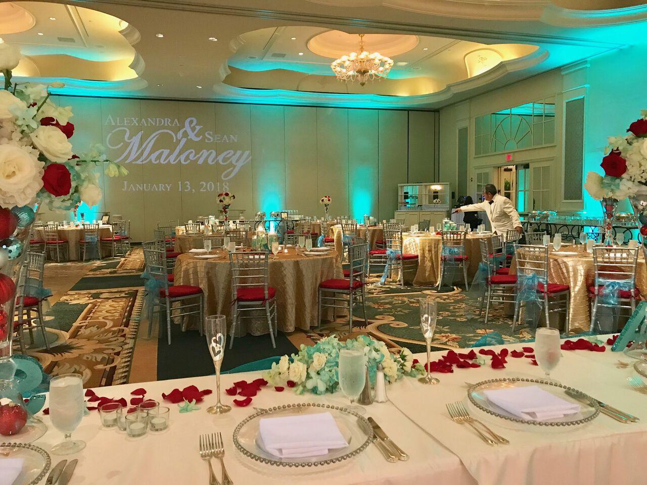 Alexandra + Sean\'s Orlando Wedding at Loews Portofino | Our DJ Rocks