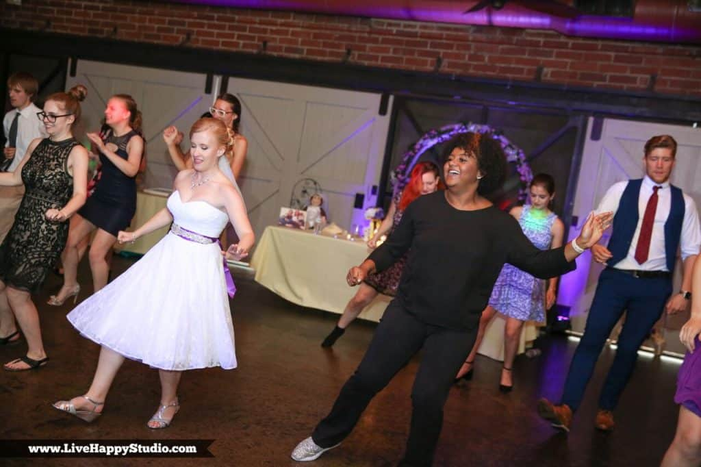 DJ Cierra dancing