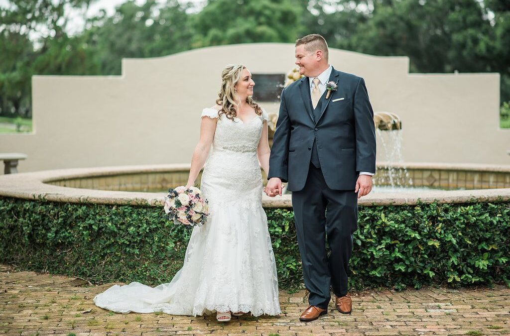 "Real Events: Courtney + Michael's ""Sweet"" Farmer's Market Wedding"