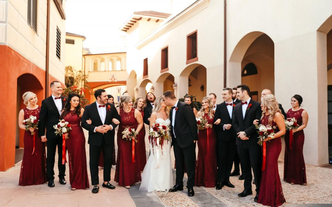 Real Events: Alex + Erik's Romantic Italian Wedding