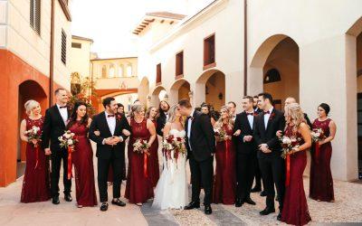 Real Events: Alex + Erik's Romantic Italian Wedding
