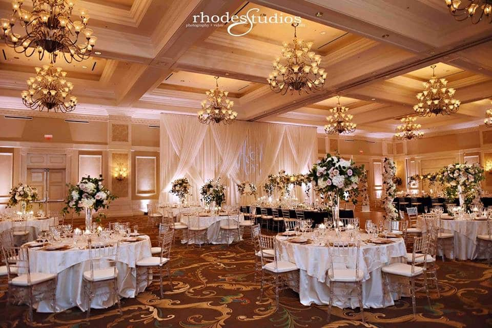 waldorf astoria ballroom wedding reception