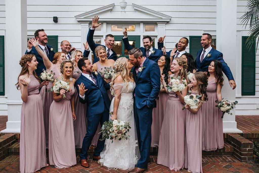 Take a peek inside Albina and Scott's Cypress Grove wedding.