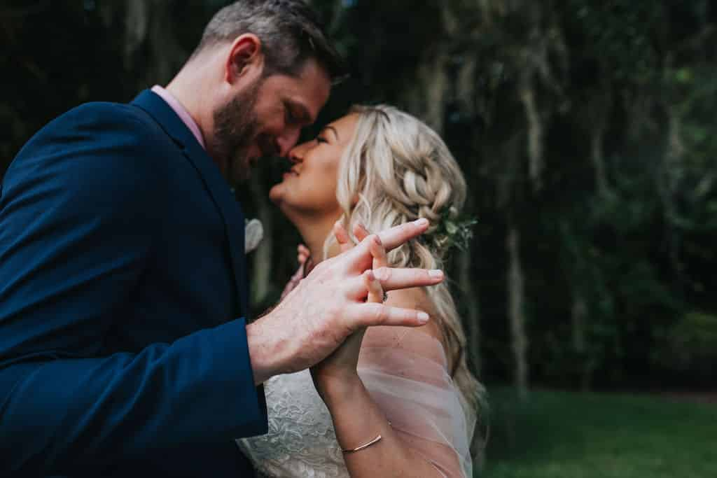 Albina and Scott had a beautiful wedding at Cypress Grove in Orlando.