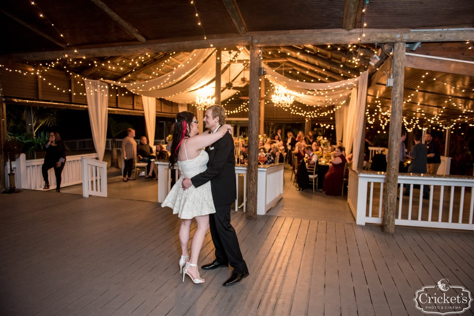 Jesea and James' first dance