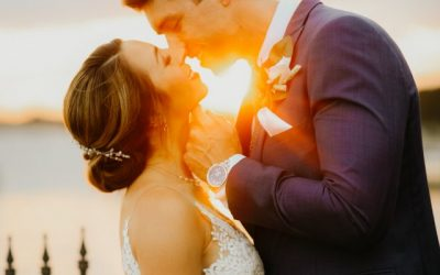 Real Events: Cara and Matthew's Romantic Lakeside Wedding