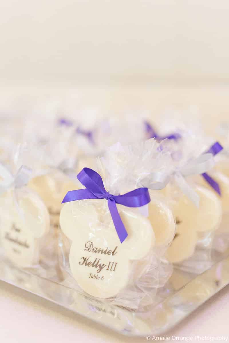 mickey cookie wedding favor