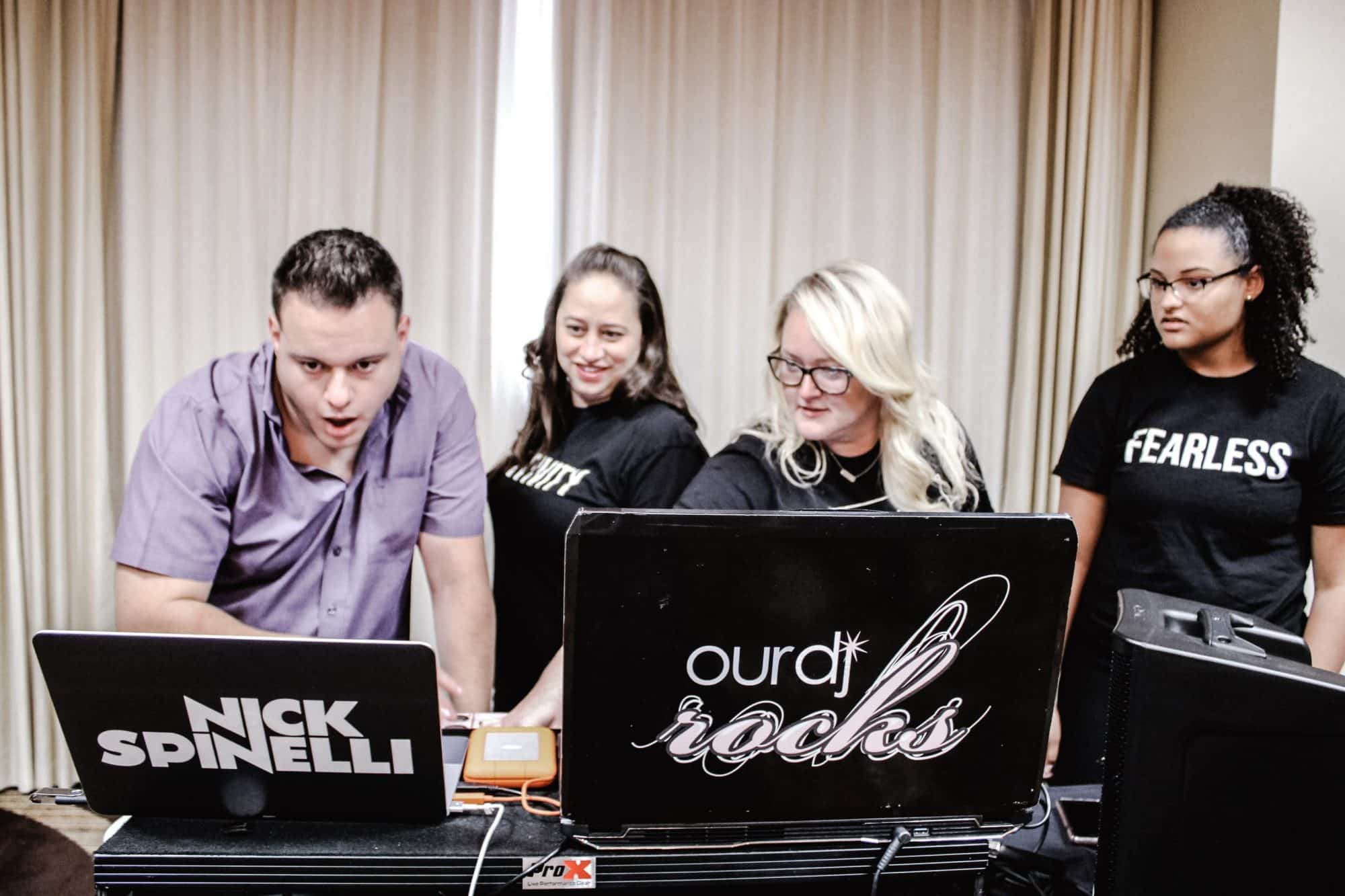 What does a dj do at a wedding? Hint: it starts BEFORE the wedding....
