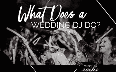 What Does a DJ Do at a Wedding?