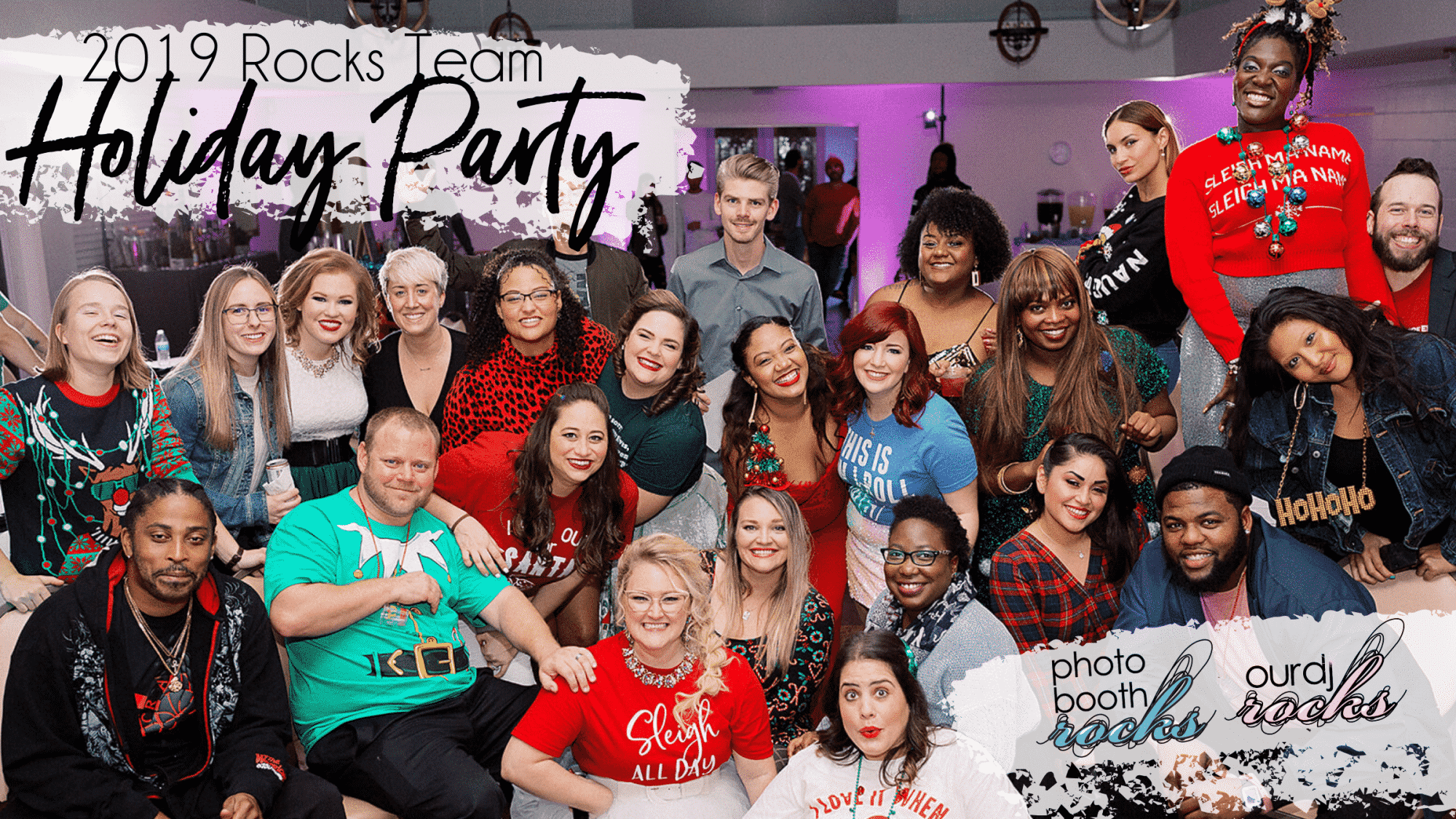 Team Rocks 2019 Holiday Party