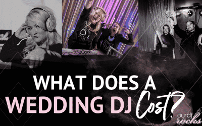 What Does a Wedding DJ Cost?