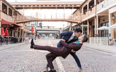 Real Events: Albert + Logan Wedding